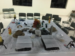 The table with our lives on it